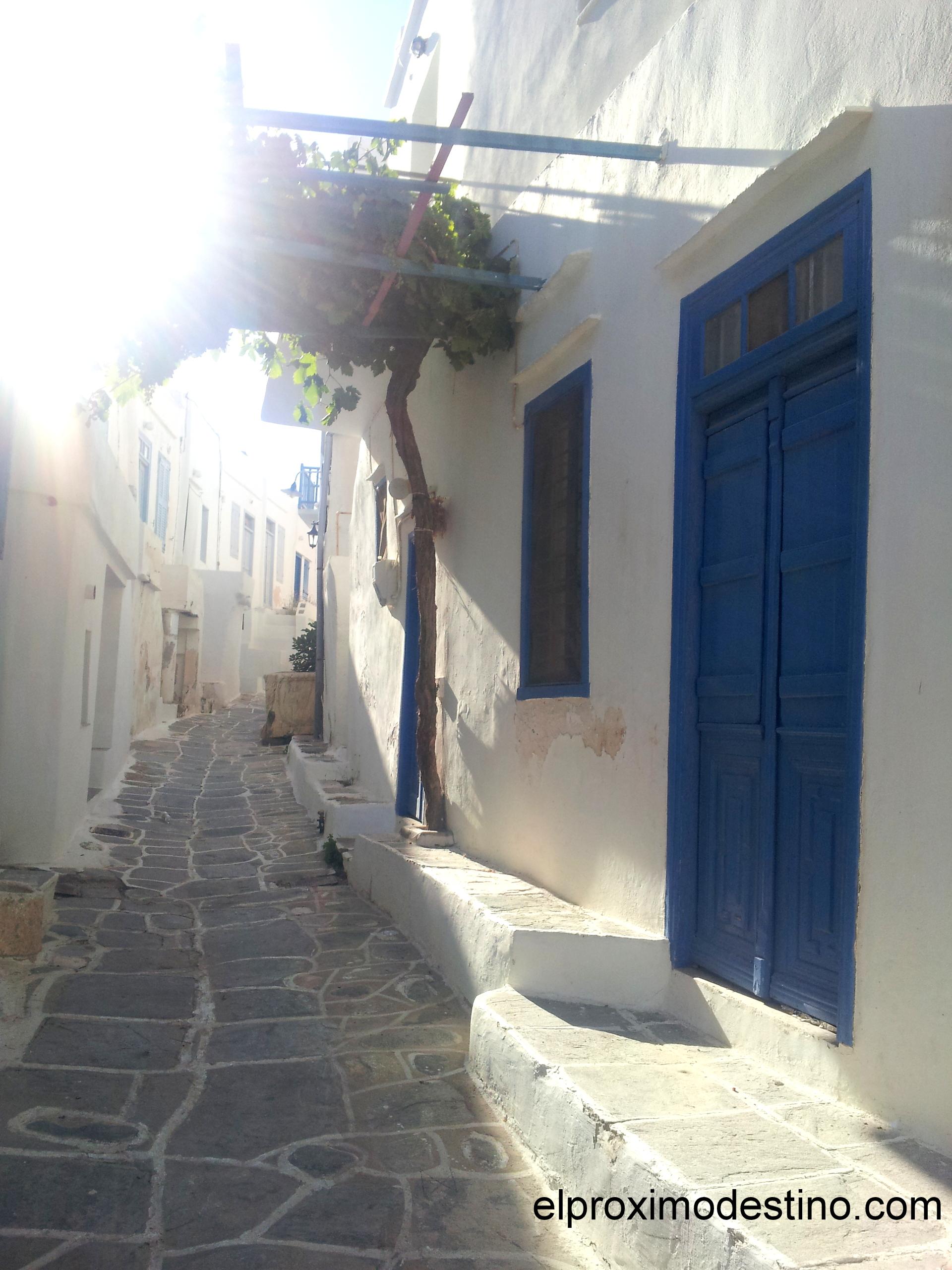Calles de Kastro en Sifnos