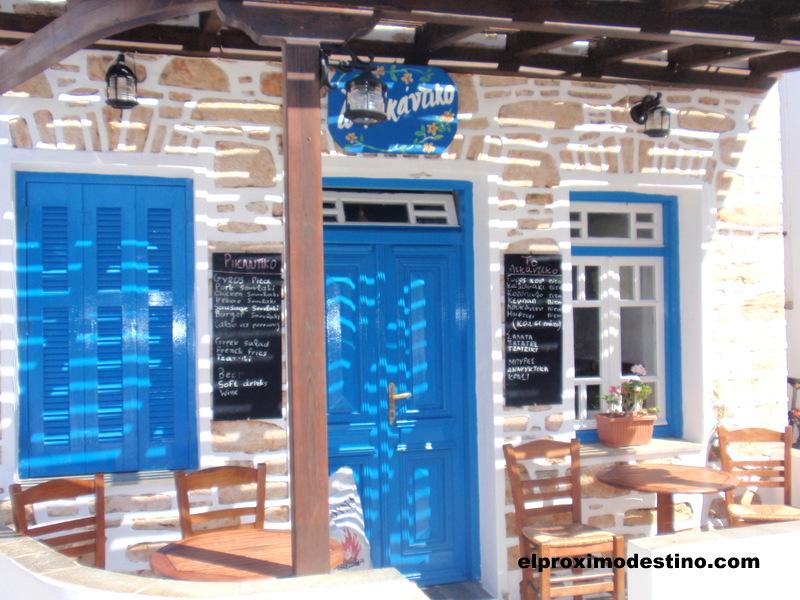 Restaurante en Folegandros