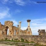 Volubilis,  restos arqueológicos romanos mejor conservados de Marruecos