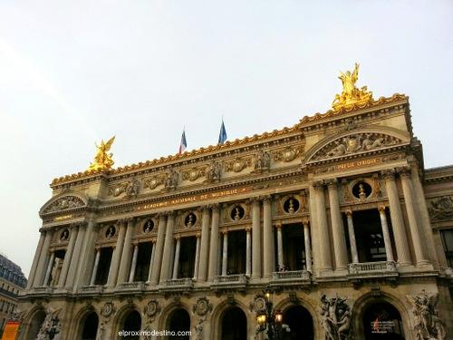 La Ópera de París.