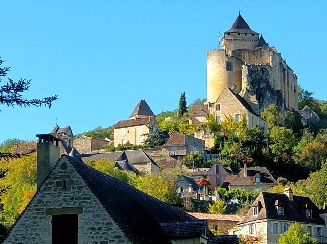 Castelnaud-la-Chapelle, uno de los pueblos más bonitos de Francia.