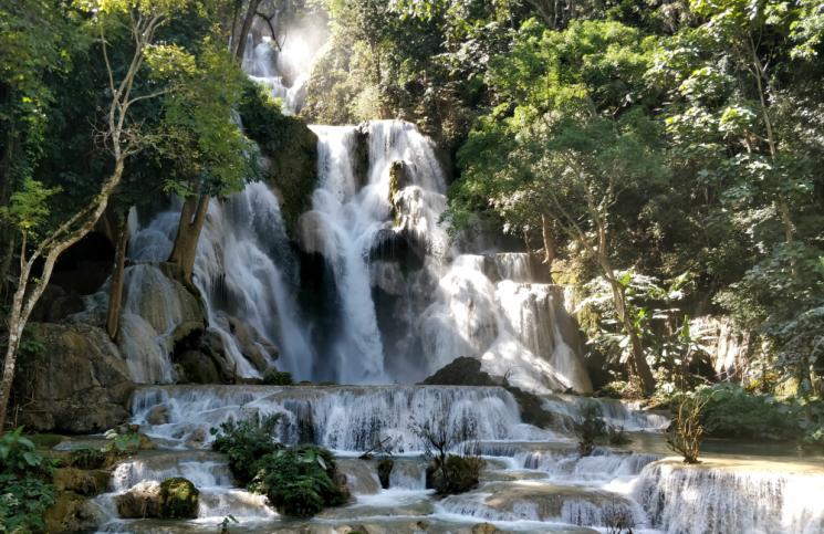 Cascadas en Luang Prabang