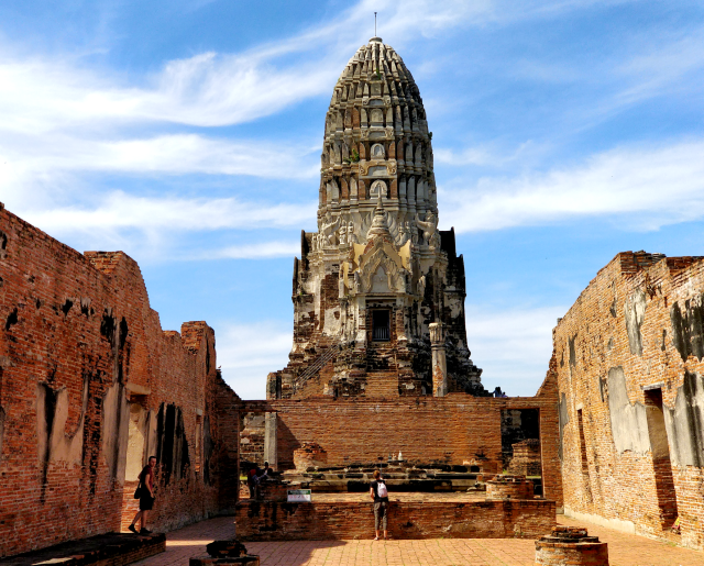 Visita a las ruinas de Ayutthaya