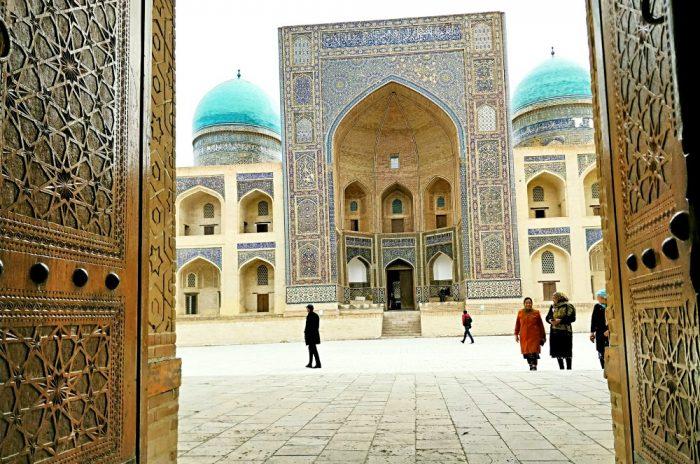 La ruta de la seda en Uzbekistán