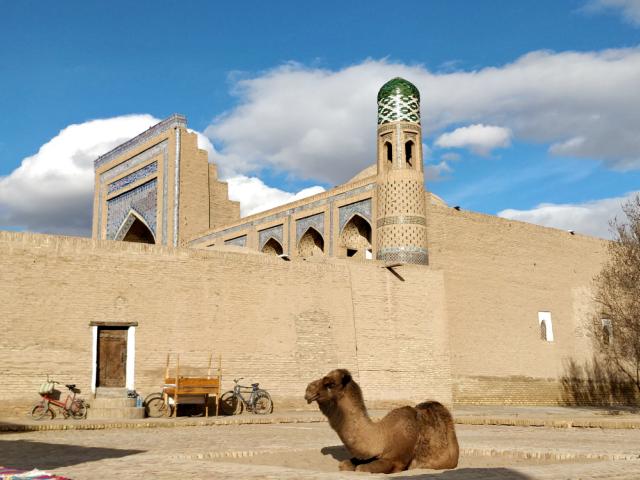 Viaje a la ruta de la seda, Uzbekistán.