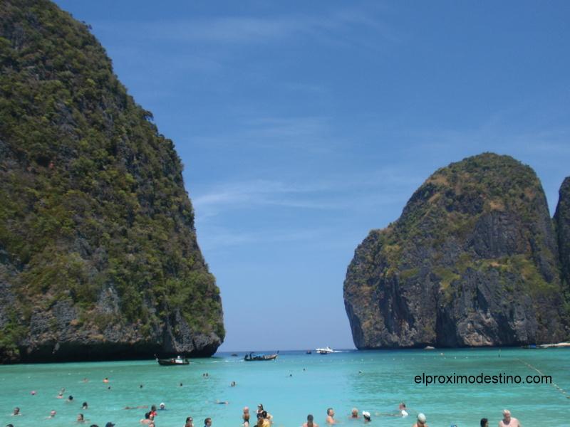 Playa de la película ¨The Beach¨