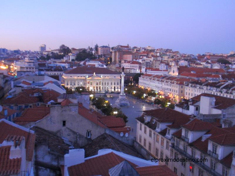 Vista de la ciudad desde el Mirador de Santa Justa