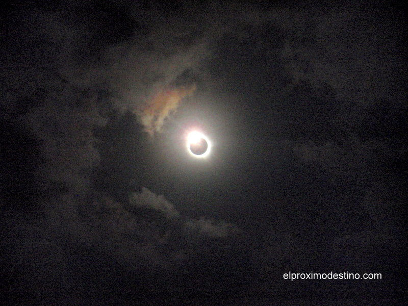 Eclipse en Cairns