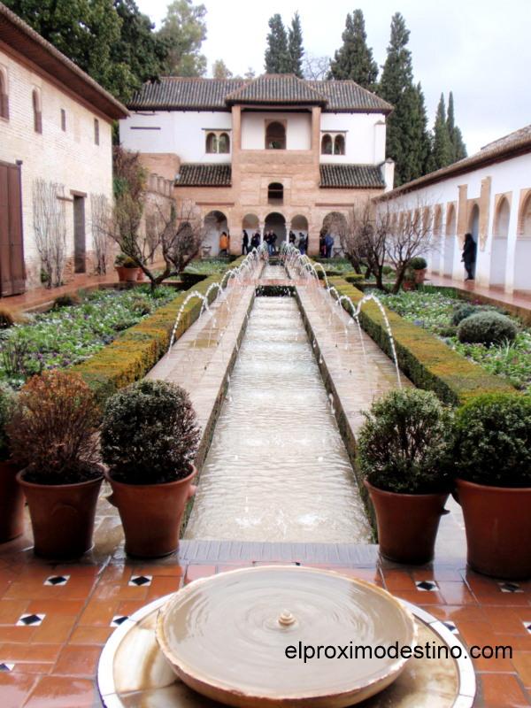 Jardines en la Alhambra