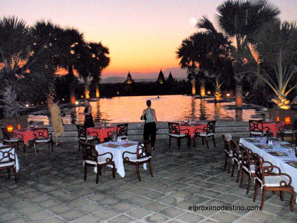 Hotel de lujo en Bagan