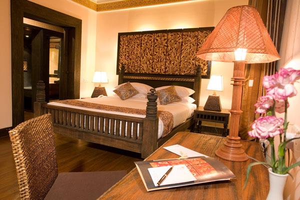 Hotel en Bagán. Lujo asiático.