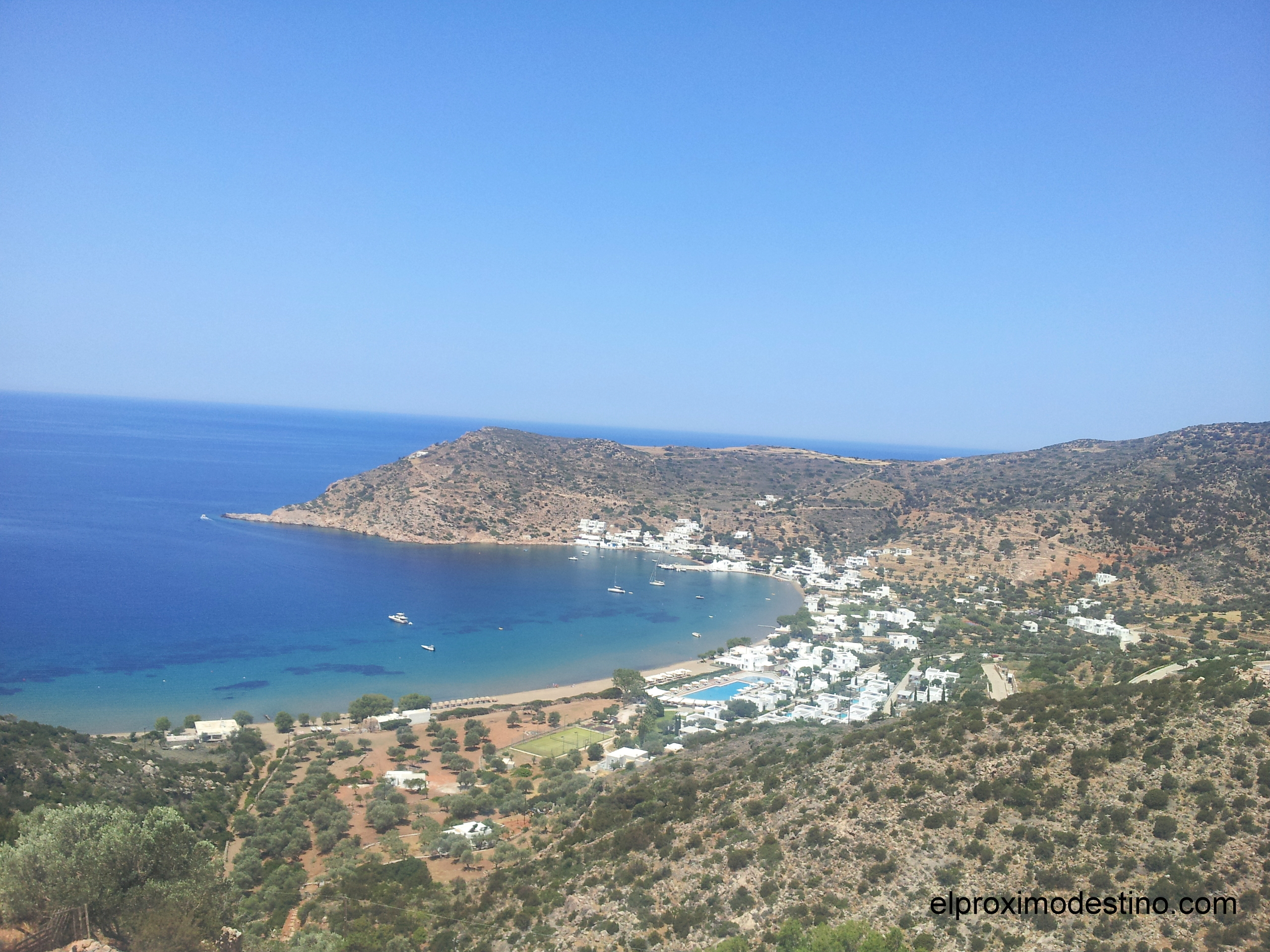 Playa en Sifnos