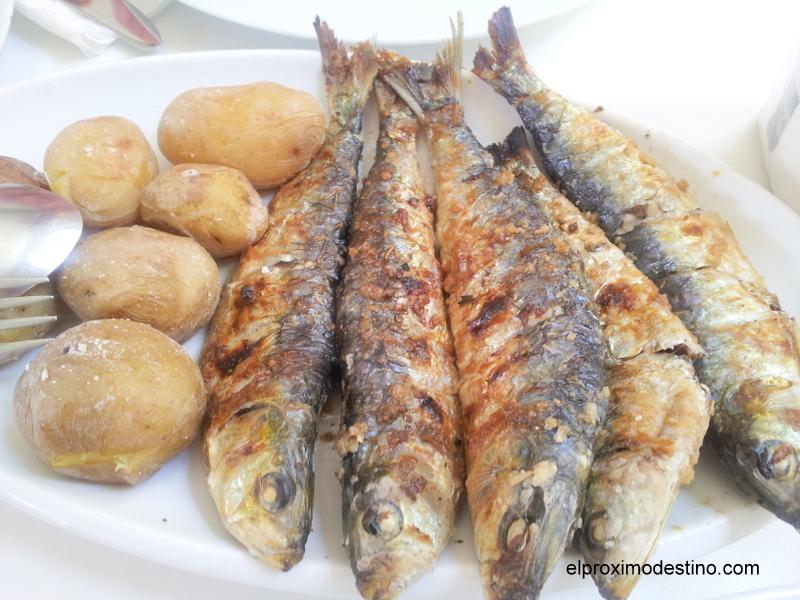 Sardinas en Matosinhos