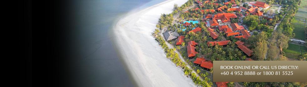 Foto aérea del hotel sacada de la web