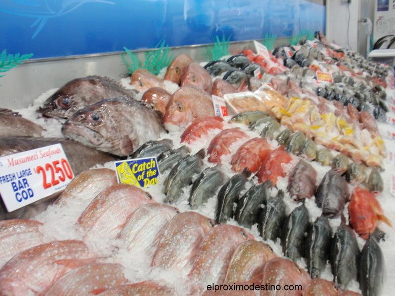 Puestos de venta de pescado en Sidney