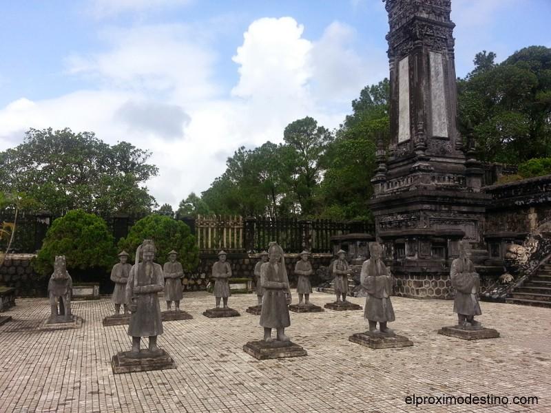 Tumbas Imperiales de Hue, Vietnam.