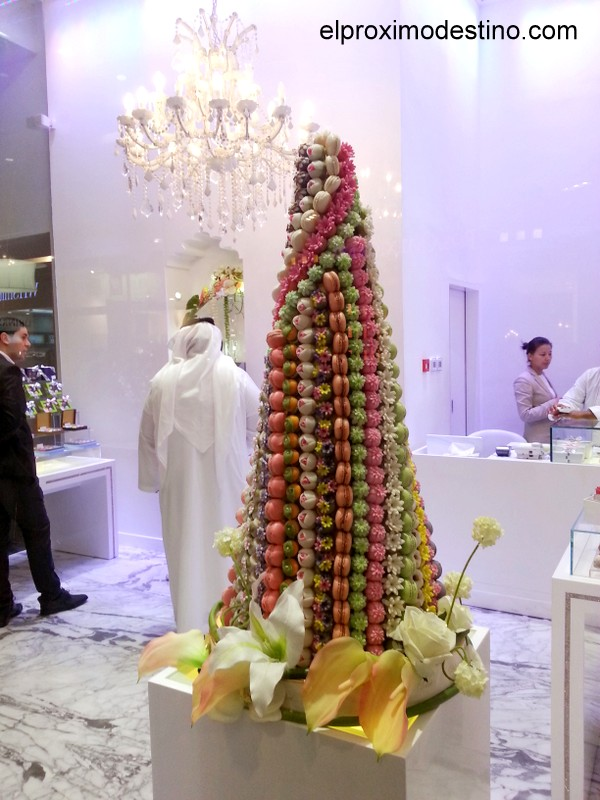 Escaparate de Dulces en Dubai Mall