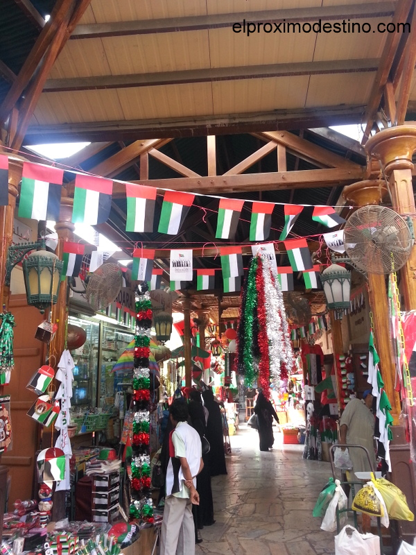 Calles mercados Dubai