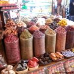 Mercado oro y especies en Dubai