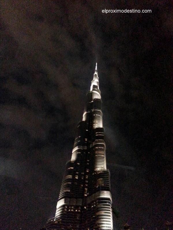 Burj Khalifa de noche