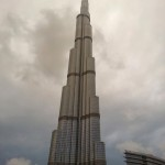 Burj Khalifa, el edificio más alto del mundo.