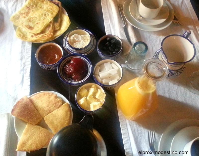 Desayuno Dar Bensouda