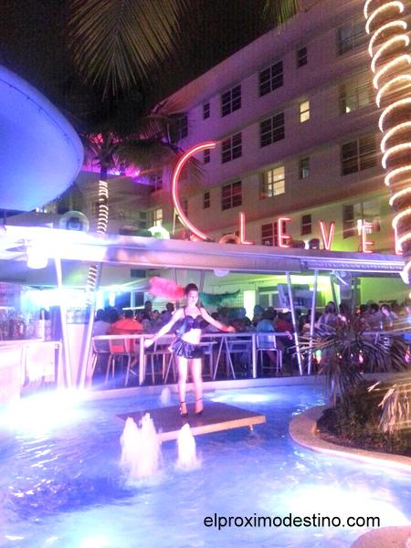 Discoteca en Ocean Drive