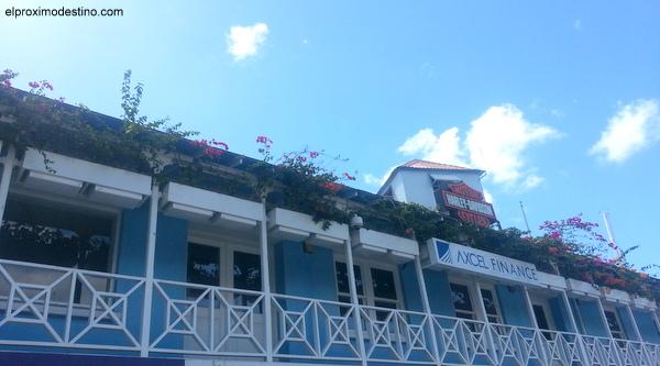 Balcón colonial en Bridgetown