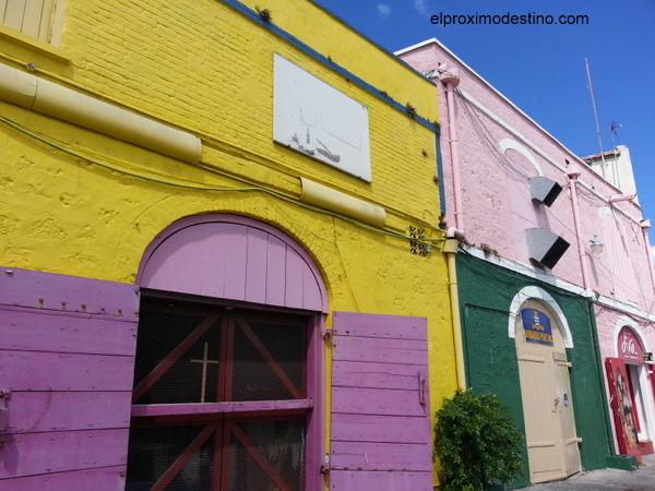 Casas de colores en Bridgetown
