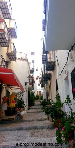 Típicas calles que se ven al subri al castiillo.