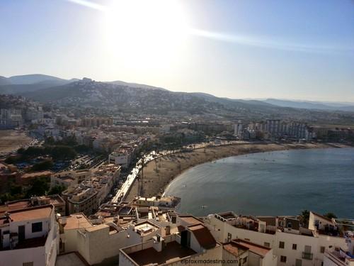 Vistas desde el Castillo de Peñíscola