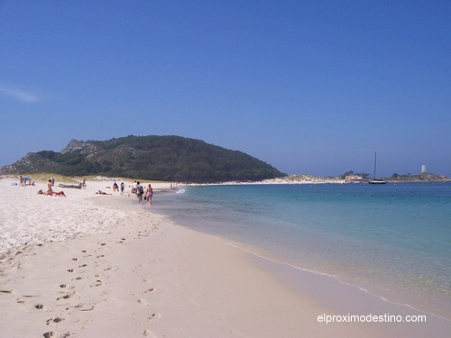 Playa en las Islas Cíes.