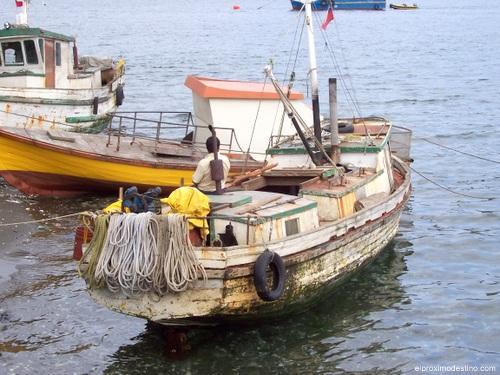 Pescador en Chiloé