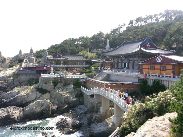 Templo Haedong Yonggungsa, Busan