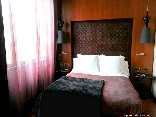 Nuestra habitación en Banke Hotel