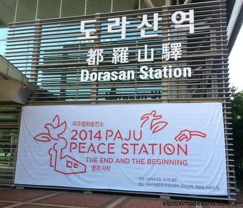 Estación Dorasan. Estación por la paz.