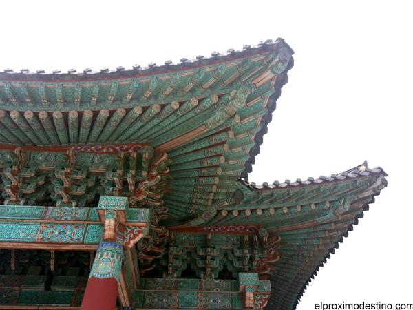 Detalles del templo Bulguksa