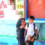 Visita a una isla de pescadores en Maldivas