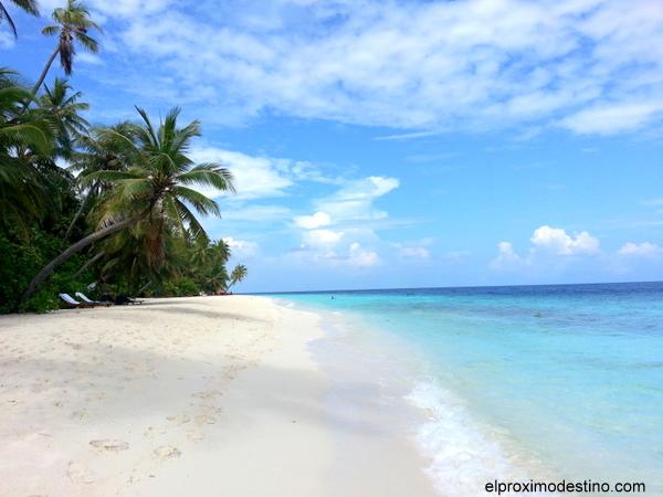 Una de las playas de Filitheyo
