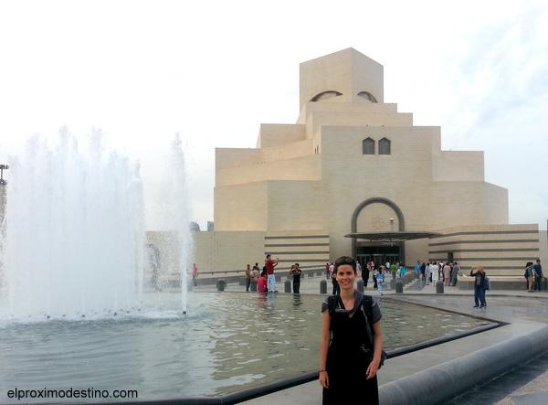 Exterior del Museo de Arte Islámico
