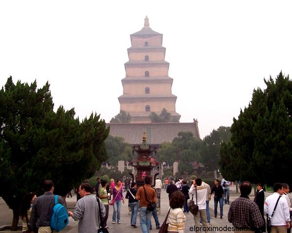 La Pagoda del ganso salvaje
