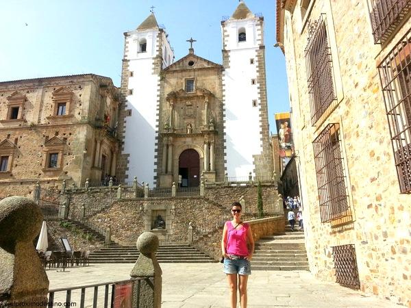 Iglesia San Francisco Javier, Cáceres
