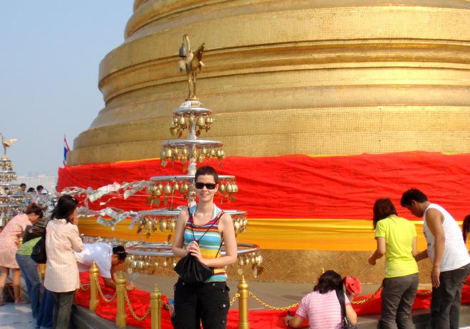 Wat Saket o Monte Dorado en Bangkok