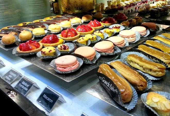 Dulces en Les Grands Buffets