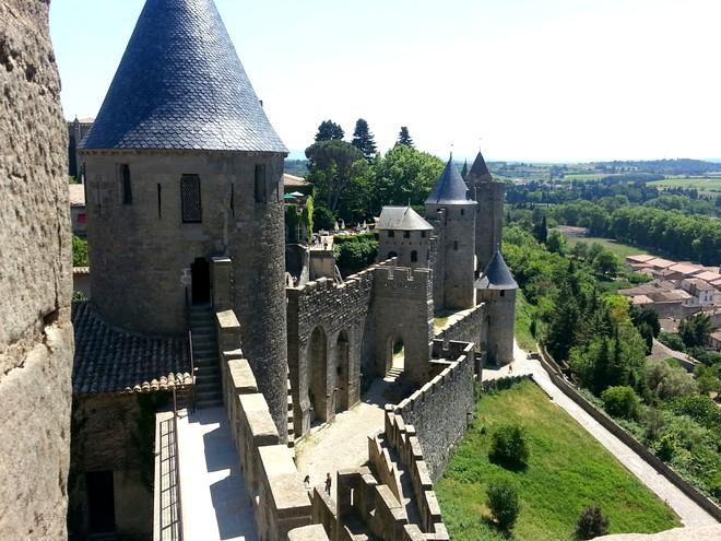 Vistas desde el Castillo, Carcassonne