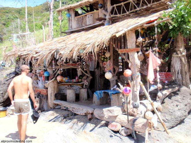 Chiringuito playero en Koh Lanta