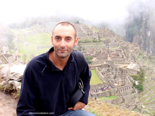 David en Machu Picchu