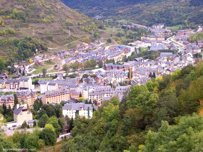 Vielha, capital de la Vall d`Aran