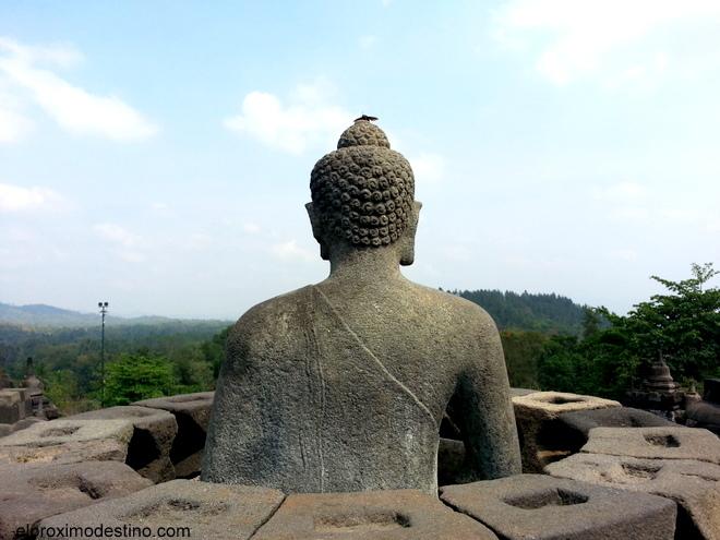 Estatua de Buda en Borobudur