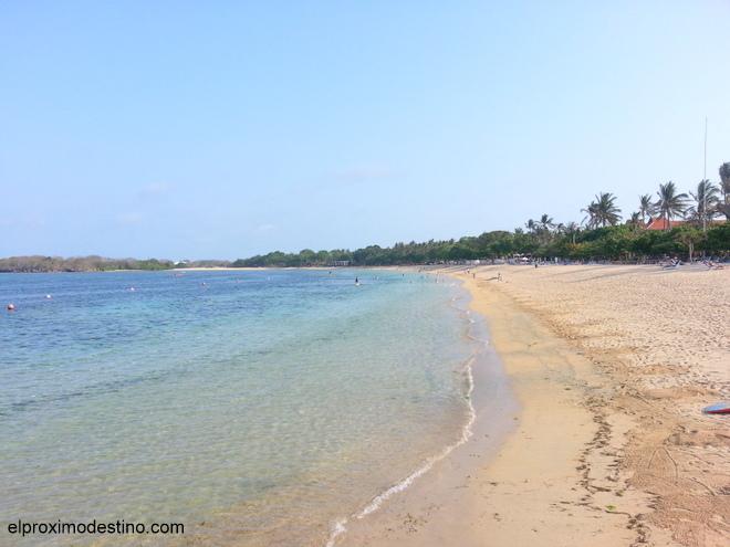 Playa de Nusa Dua, Bali